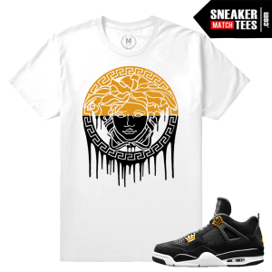 Matching Tee Shirt Royalty 4 Jordans