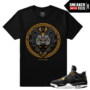 Shirts Match Jordan 4 Royalty Sneakers