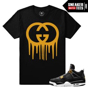 Sneaker Shirt Matching Royalty Jordan 4