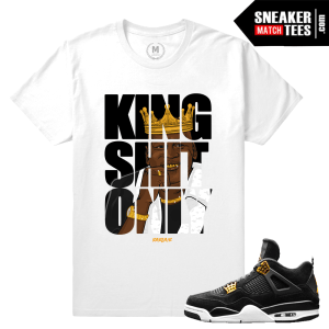 Sneaker Tee Jordan Retros Royalty 4s