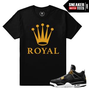 Sneaker tees Jordan 4 Royalty