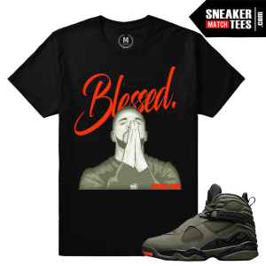 Sneaker Tees Matching Jordan 8 Take Flight