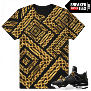 T shirts Match Royalty 4 Jordan Retros