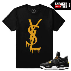 Tees Match Jordan 4 Royalty
