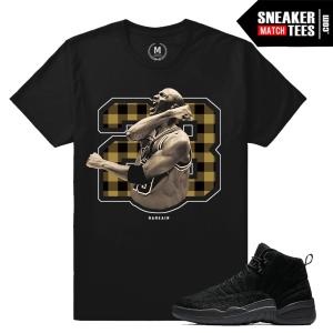 Air Jordan 12 OVO Sneaker tee Match