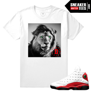 Air Jordan 13 Chicago Matching Sneaker tees