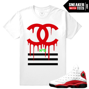 Air Jordan 13 match T shirts Chicago 13