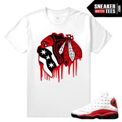 Chicago 13s Match Tee shirt Air Jordan