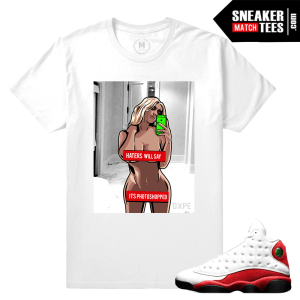 Jordan 13 Chicago Match Sneaker Tee Shirts