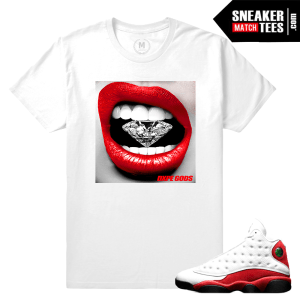 Match Chicago 13s Sneaker Tees