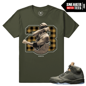 Match Sneaker tees Jordan 5 Take flight