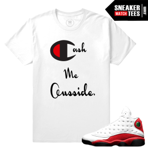 Sneaker Match Tees Chicago 13s