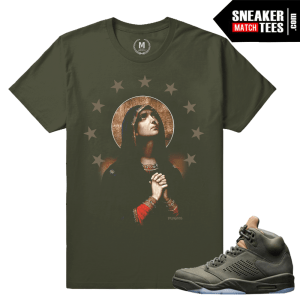 Sneaker Match shirts Take flight 5s