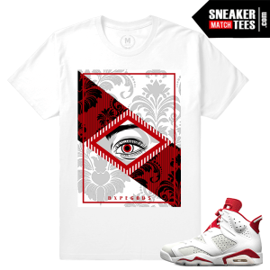 Air Jordan 6 Alternate T shirt Match
