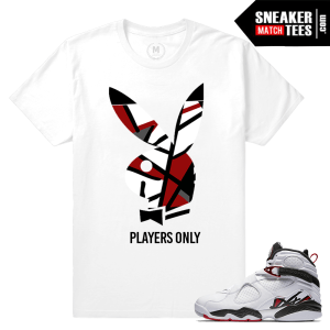 Air Jordan 8 Alternate Match Sneaker tees
