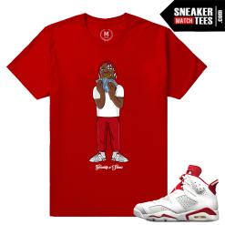 Alternate 6s T shirt Lil Yachty