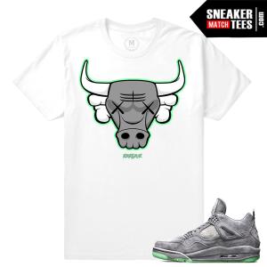 Jordan 4 Kaws T shirts Matching