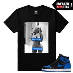 Match Air Jordan 1 OG Royal Sneakers