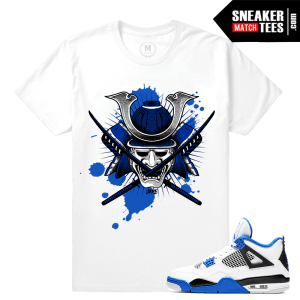 Match Air Jordan 4 Motorsport Tees