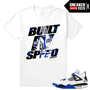 Motorsports 4 Air Jordan T shirt Match