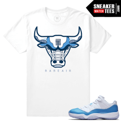Air Jordan 11 University blue T shirt Match