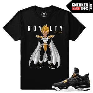 Air Jordan 4 Royalty Match Sneaker shirts