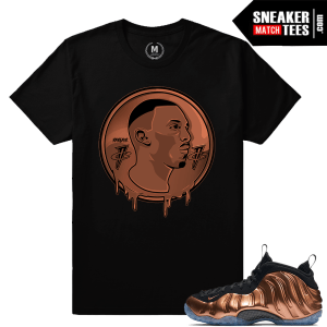 Copper Foamposite Match Nike t shirts
