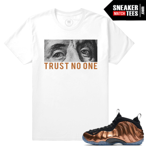 Copper Foams Match Sneaker T shirts