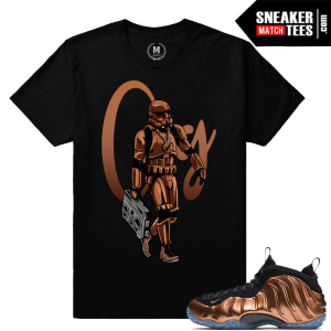 Copper Foams T shirts Match