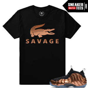 Copper Foams t shirt Matching