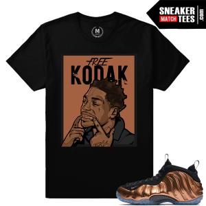 Match Copper Foamposite Nike shirts