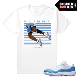Shirts Matching Jordan UNC 11s