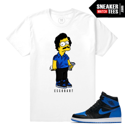 Royal 1s Jordan T shirts
