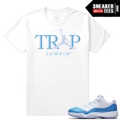 Shirts Matching University Blue 11 Jordan