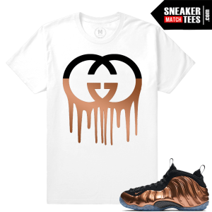 Sneaker Tees Match Copper Foamposites