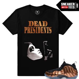 Sneaker tees Copper Foams Nike