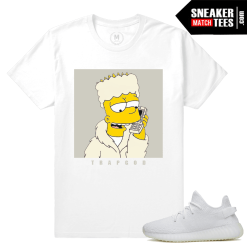 Yeezy Boost 350 Cream White T shirt Match