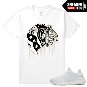 Yeezy Boost 350 White Cream T shirts