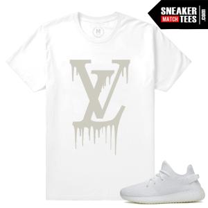 Yeezy Boost 350 White T shirt