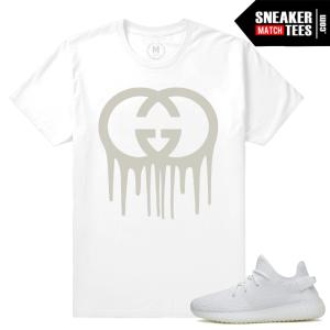 Yeezy Boost White Cream t shirt