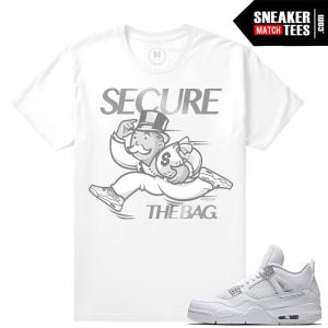 Air Jordan 4 Pure Money tees shirt