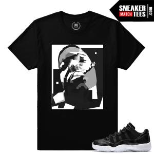 Jordan 11 Barons Sneaker Matching Shirts