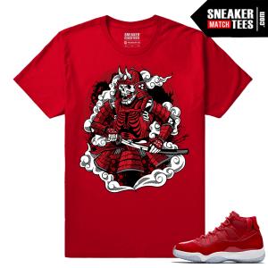 Jordan 11 Win Like 96 Gym Red Sneaker tees Red Eternal Samurai