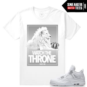 Pure Money 4 Jordan T shirt Match