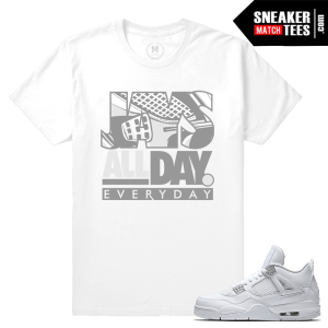 Pure Money 4s Tees Shirts