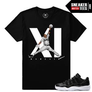 Sneaker Match Shirt Barons Air Jordan 11