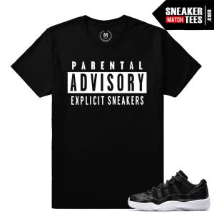 Sneaker Tees Match Barons 11 Jordans
