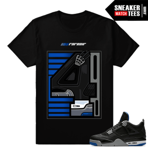 Air Jordan 4 Motorsport Matching Rare Air 4 tee