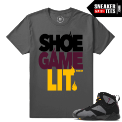 Air Jordan 7 Bordeaux sneaker tees
