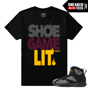 Bordeaux 7 Jordans shirt